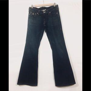 True Religion Joey Jeans Pants Dark Wash SZ 31